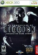 Chronicles of Riddick: Assault on Dark Athena (Microsoft Xbox 360, 2009)