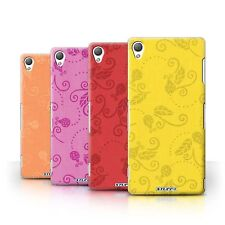 Glossy Rigid Plastic Mobile Phone Cases, Covers & Skins for Sony Xperia Z3