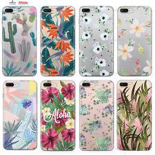 Custodia Cover Design Pianta Fiori Per Apple iPhone 4 4s 5 5s 5c 6 6s 7 Plus SE