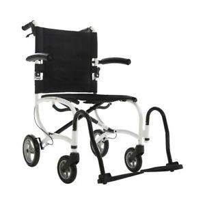 MobiQuip Carrymate Wheelchair, Ultra Lightweight, Compact Folding Wheelchair