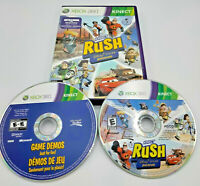 Kinect Rush A Disney Pixar Adventure Microsoft Xbox 360 Video Games Gaming
