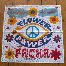More details for brand new flower power @ pacha ibiza bandana - ibiza club posters - hippy dj