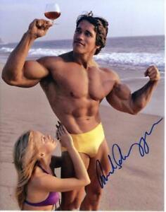Arnold Schwarzenegger Autogramm Autograph Terminator The Expendables Red Heat