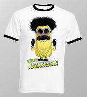 Borat Mankini Kazakhstan Despicable Me funny white tshirt OZ9800