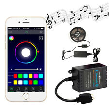 Wireless Bluetooth Music Remote Smartphone App Controller For RGB LED Strip