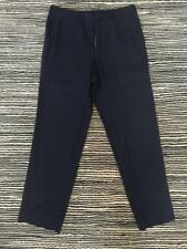 COMME DES GARCONS Mens Dark Navy Flat Front Casual Chino Dress Pants L
