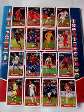 Panini Euro 2016 Coca Cola Stickers Bulgarian Edition Complete Full Set 16