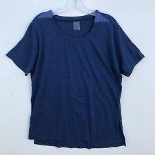 Calia by Carrie Underwood Blue Crew SS Tee Shirt - Medium M