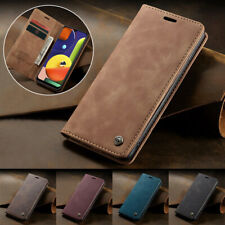 For Samsung A70 A50 A30 A20E Magnetic Card Wallet PU Leather Case Stand Cover