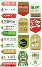 Unbranded Holiday Multi Scrapbooking Stickers