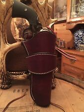 Wester Leather Gun Holster Single Or Double Action Revolver