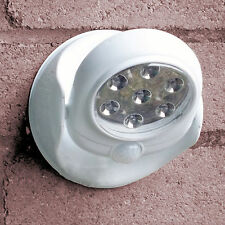 Wireless LED Light Lamp PIR Sensor Cellar Shed Motion Detector Battery Operated