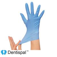 100 pcs Premium Nitrile Gloves Powder Free for Dental Medical Tattoo S M L XS