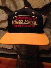 Discount Auto Parts Yellow Black  Snap Back Hat Used Had No Tags Free Shipping