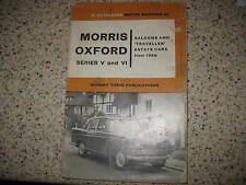 MORRIS OXFORD SERIES V & VI ( AUSTIN CAMBRIDGE ) - OWNERS MANUAL / BOOK