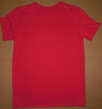 NWOT Dance Costume Pull Over Short Sleeve T Shirt Red Mens Small