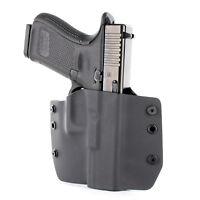 Colt, CZ, FN, Diamondback - OWB Kydex Holster - Black
