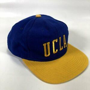UCLA Bruins Starter The Natural Vintage 100% Wool Snapback Baseball Cap Hat
