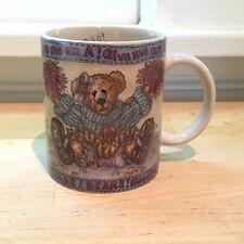 The Boyd's Collection Cheerleader Football Teddy Bear Coffee Mug