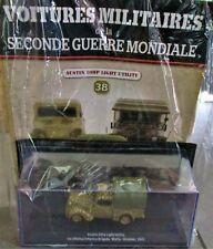 NEW WWII CARS Altaya 1/43 N°38 + AUSTIN 10HP LIGHT UTILITY Modèles mythiques de