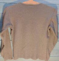 Columbia Women's Size Medium Olive Long Sleeve Crew Neck 50% Cotton/Poly Shirt