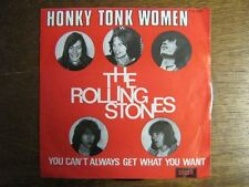 THE ROLLING STONES 45 TOURS BELGIQUE HONKY TONK WOMEN+