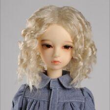 "Dollmore 1/3 BJD dollfie SD wig  (8-9)"" JKM Wig (Blond)  SD size"
