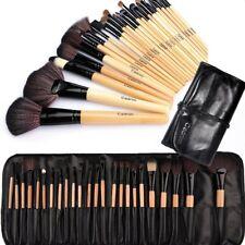 Set di 24 Pennelli Professionali per Trucco, Materiali di qualità + borsetta
