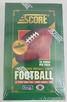 1993 Score Football NFL Sealed Box - 16 Cards per Pack