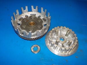 YAMAHA YZ 80 1981 vintage clutch basket and center hub see pics has wear