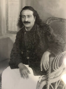 """AVATAR MEHER BABA  FOTO 10 """"TO 8""""  EXCEPTIONAL RARE"""