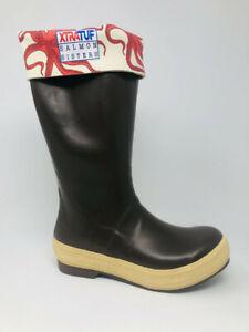 Xtratuf Women's Salmon Sisters Legacy Boots, Brown/Octupus Print, 6 B(M) US