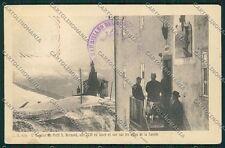 Aosta Piccolo San Bernardo Cane cartolina QQ5928