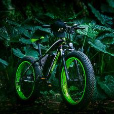"RICHBIT electric Fat bike  48v 1000w 26"" EBike PAS+ Throttle 17AH Li- Battery"