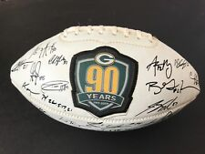 2009 Green bay Packers team signed ball (replica)