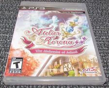 Atelier Rorona: The Alchemist of Arland for Playstation 3 PS3 Brand New!