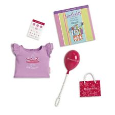 American Girl Party Birthday Goody Bag & Shirt Set For 18-inch Dolls