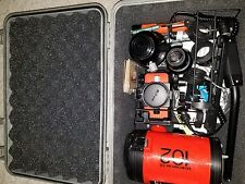 nikonos v 35mm film underwater  camera. never been in the water in perfect shape