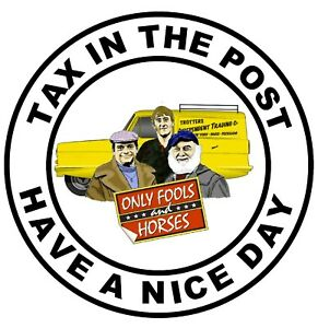 FUN CAR / WINDOW STICKERS / ONLY FOOLS & HORSES (TAX IN POST) +1 FREE / GIFTS