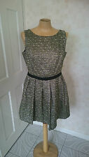 BNWT Women's Monsoon Juniper Boucle Lined Dress Size 12 (NW1)