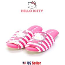 Sanrio Hello Kitty Non Slip Soft Indoor Slippers for Adults (One Size)