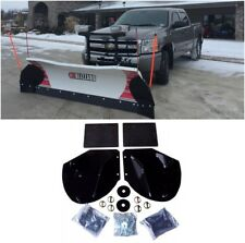 New HEAVY DUTY SNOW PLOW PRO-WING BLADE EXTENSIONS for Western Snowplow Blade