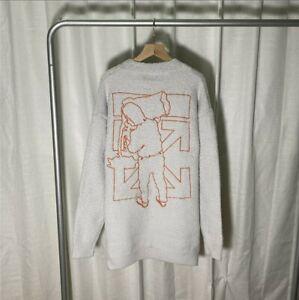 Off White Sweater Größe M