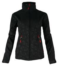 Damen Softshell Jacke mit Klimafunktion wasserabweisend outdoor Sport Fitness