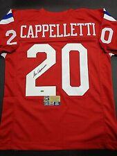 Gino Cappelletti New England Patriots Autographed Custom Style Jersey COA-FTA