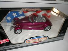 Ertl American Muscle Plymouth Prowler 1:18 scale. Die cast. As New Cond. Boxed