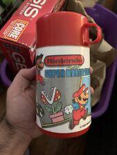 1988 Nintendo Aladdin Super Mario Bros Video Game Thermos 100% COMPLETE CLEAN