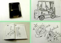 Yale GP GLP GDP 040-060 RF TF Service parts Manual 09/1993
