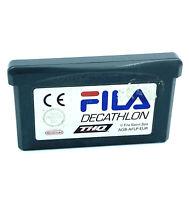 Fila Decathlon Jeu Nintendo Game Boy Advance Cartouche PAL Fila Sports Spa