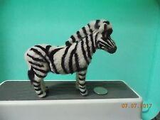Furry Zebra Figure